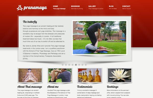 Pranamaya home page